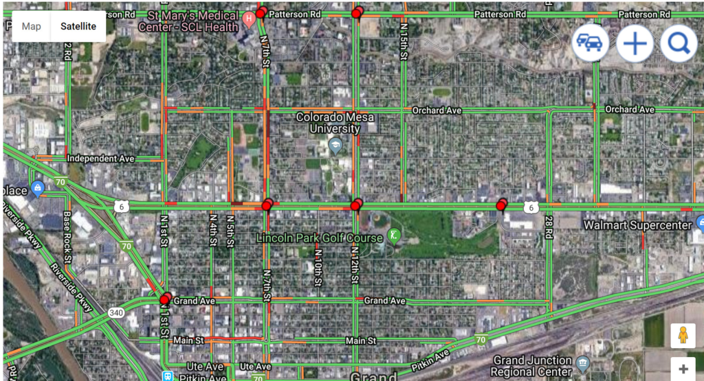 Most Dangerous intersections in Grand Junction