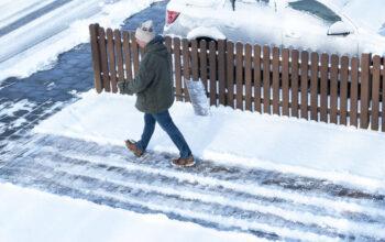 Avoid slipping on ice this winter
